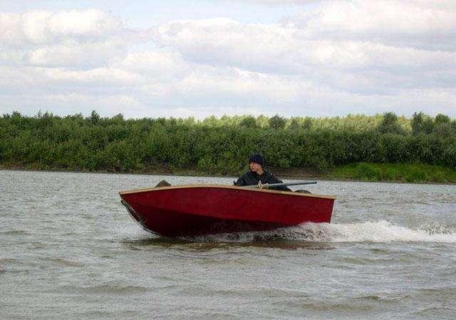 лодки самодельные глиссирующие видео
