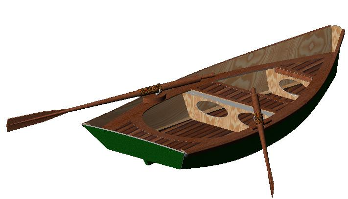 гребные лодки проекты